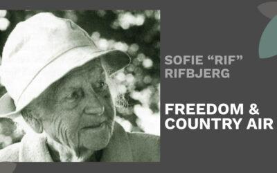 Sofie 'Rif' Rifbjerg